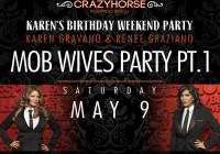 Karen & Renee from Mob Wives Live at Crazy Horse Pompano Beach May 9